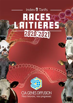Index et Tarifs Races Laitières