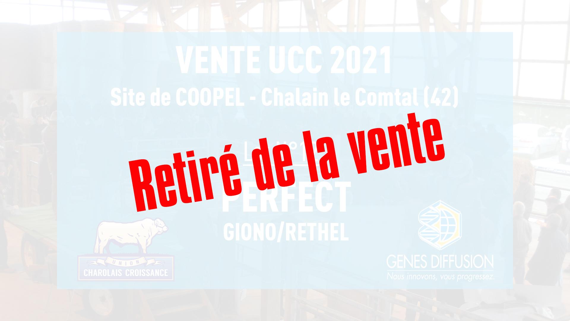 Retiré de la vente UCC